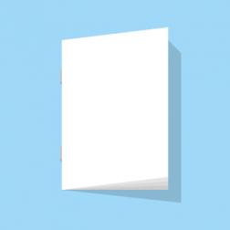 Broschüre ohne Umschlag