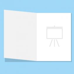 Präsentation/Factsheet einzelnes Blatt gefaltet